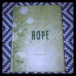 "NEW LISTING!! ""HOPE"" PROMISE JOURNAL"